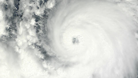Cyclone - Hurricane - Typhoon stock footage