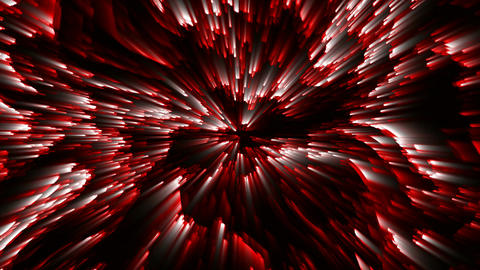 Red VJ DJ Loops Abstract Background Animation Footage