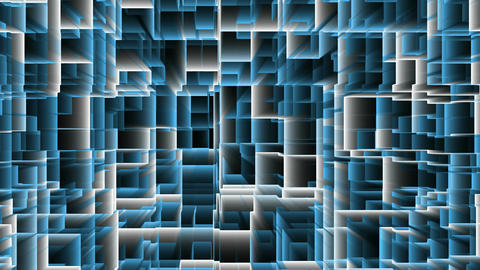 Blue VJ DJ Loops Abstract Background Animation Footage