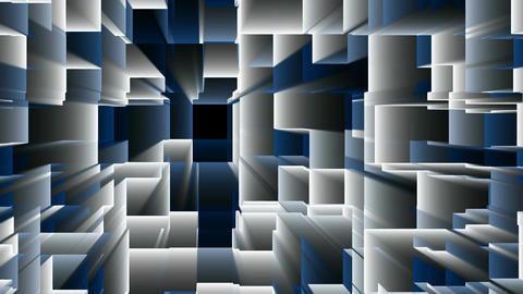 Blue white VJ DJ Abstract Background Animation Animation