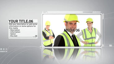 Elegant Corporate Presentation After Effects Template