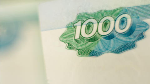 MOVING MONEY stock footage